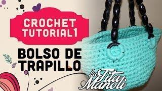 Crochet Bolso De Trapillo