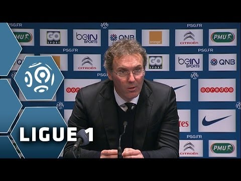 Coach Blanc's interview before LEVERKUSEN-PSG (Ligue 1)  2013/2014