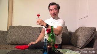 Hướng dẫn ảo thuật   Ly không hoá rượu!