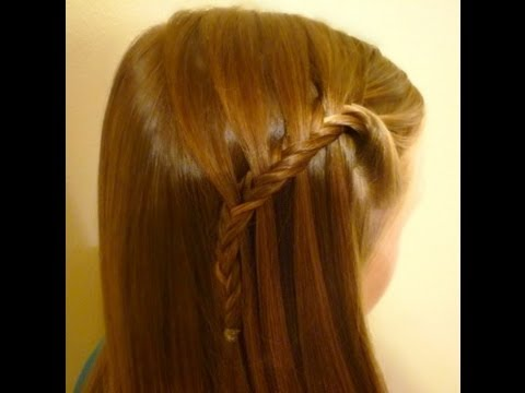 Waterfall Fishtail Braid, Cute Hairstyles