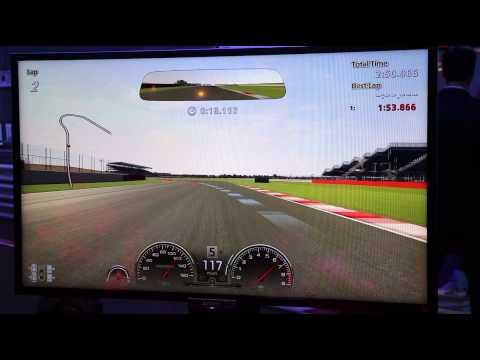 In-game footage of Gran Turismo 6 at Sony's E3 booth