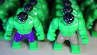 Lego Marvel Superheroes BIG HULK Lele Bootleg Review