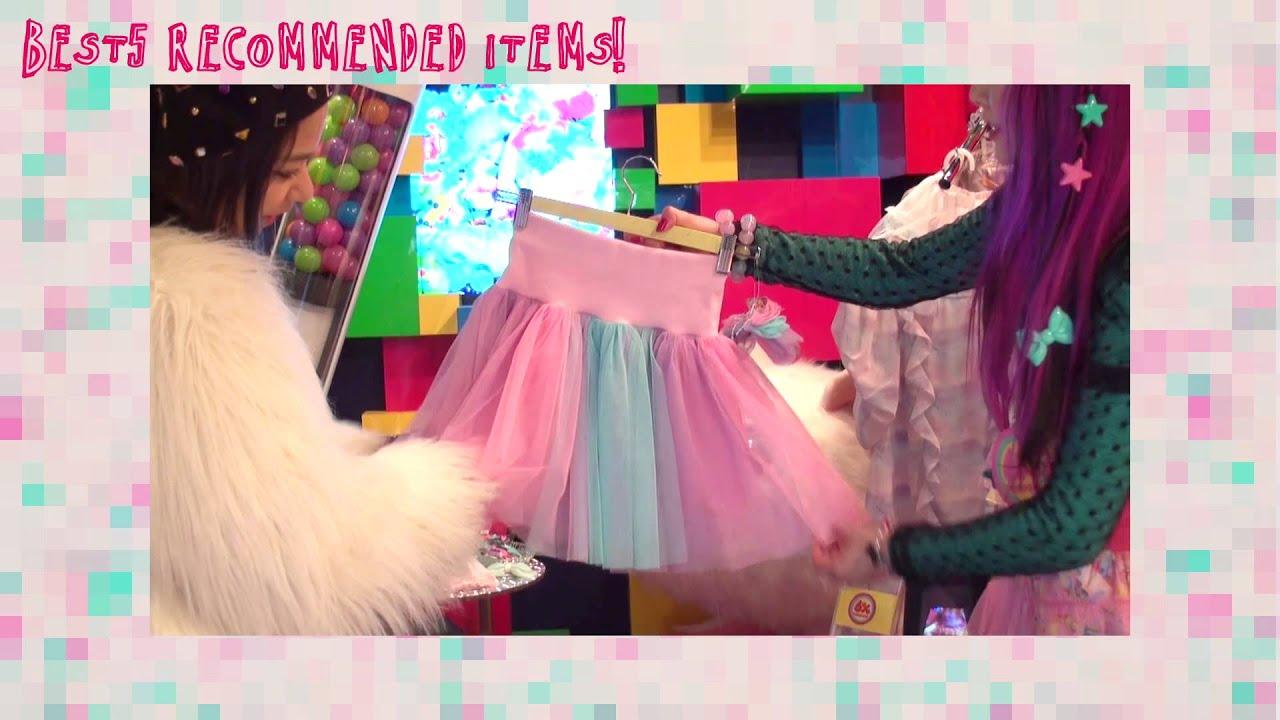 "Shop Report ""6%DOKIDOKI"" Una | HARAJUKU SHOP #HKTV 154"