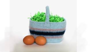 Learn To Felt Easter Basket, Parts 1-6