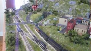 Jackson Family N-Scale Model Train Layout