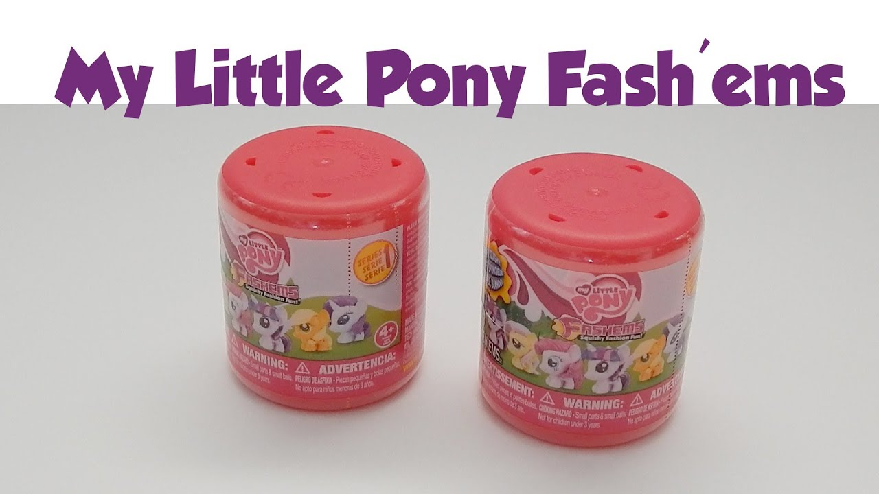 My Little Pony Fashems Surprise Squishy Toy Part One - YouTube