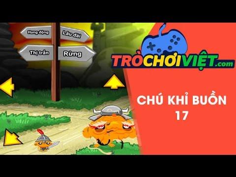 Game chú khỉ buồn 17 - Video hướng dẫn cách chơi game