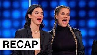 Kardashians Vs The Wests On Celebrity Family Feud | KUWTK Recap | Hollywoodlife