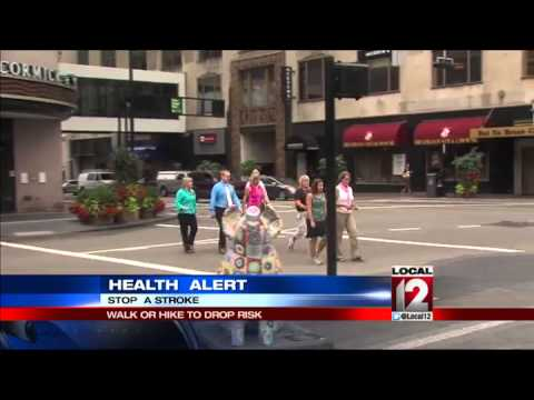 Health Alert: Walk or hike to lower stroke risk