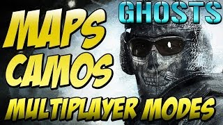 Cod Ghosts - CAMO TALK, MAPS, NEW GAME MODES & NO MORE GROUND WAR (Call of Duty Ghosts)