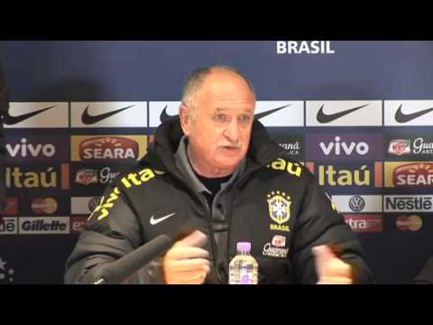 Luiz Felipe Scolari on Brazil and Chelsea