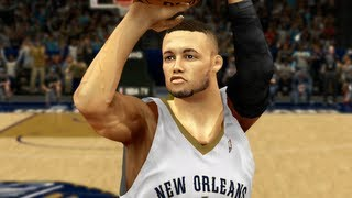 NBA 2k14 My Career My First NBA Game Ep.4