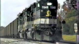 Early Norfolk Southern - 1985-1986