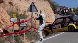 Accidente de Santi Cañizares - Rally Villajoyosa
