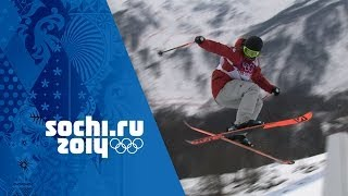 Dara Howell Wins First Ski Slopestyle Gold Scoring 94.20 | Sochi 2014 Winter Olympics