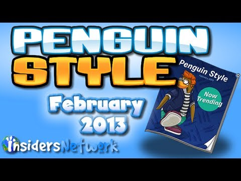 Club Penguin: February 2013 Clothing Catalog Cheats