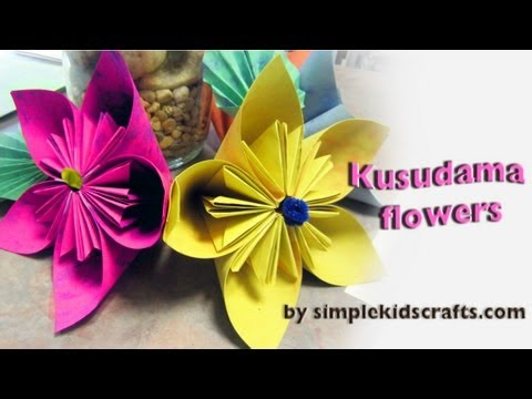 How to make recycled paper flowers beautiful flowers video mightylinksfo