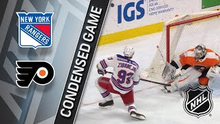 03/22/18 Condensed Game: Rangers @ Flyers