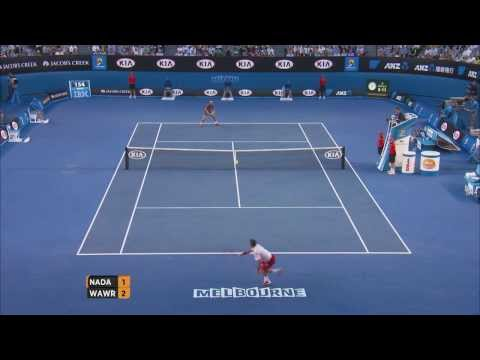 Wawrinka's hot shots - 2014 Australian Open