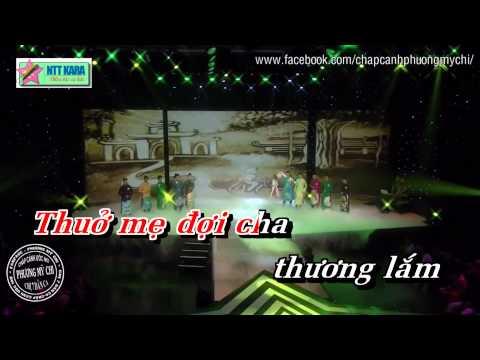 [Karaoke] Em Đi Trên Cỏ Non - Phương Mỹ Chi, Quế Như, Tấn Lợi