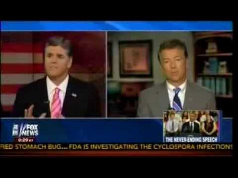 Rand Paul on The IRS, Detroit, Obamacare & Obama's Never Ending Speech   Hannity   7 24 13