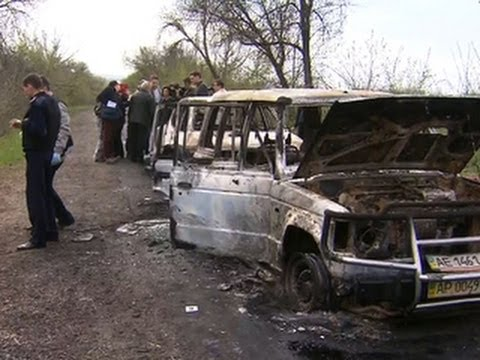 Deadly shootout at Ukraine checkpoint threatens diplomatic deal with Russia
