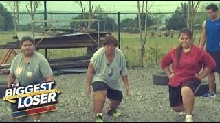 THE BIGGEST LOSER : Family Work Out