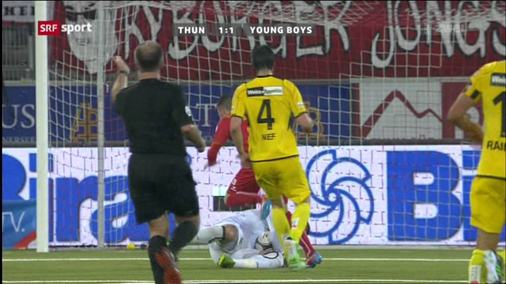 Thun 2-2 Young Boys