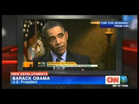 obama : russia must move back troops 28/03/2014
