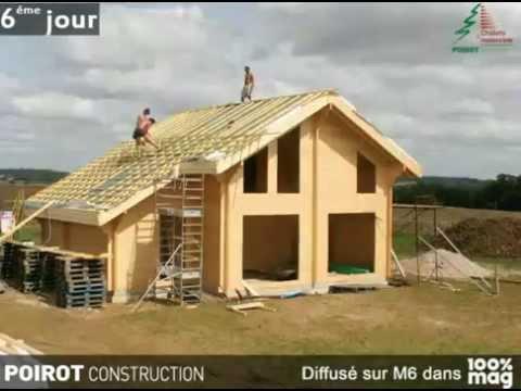 Montage maison bois en kit autoconstruction phim video clip for Montage maison bois