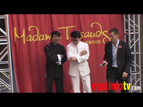 JACKIE CHAN Immortalized In WAX at Madame Tussauds January 11, 2010