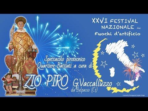 ACIBONACCORSI (Ct) - Santo Stefano 2018 - ZIO PIRO di G. Vaccalluzzo (Quartiere Battiati)
