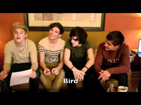 ONE DIRECTION Teaches You to Speak British!