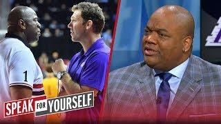 Jason Whitlock responds to reports of Magic Johnson confronting Walton | NBA | SPEAK FOR YOURSELF