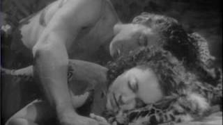 Tarzan Escapes (1936) 1-Tarzan And Jane Sleeping In The