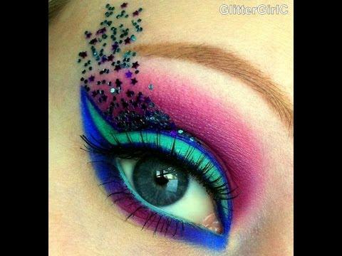 Fantasy Makeup tutorial, using Sugarpill and Inglot! :D