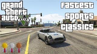 The Fastest Sports Classics In GTA V