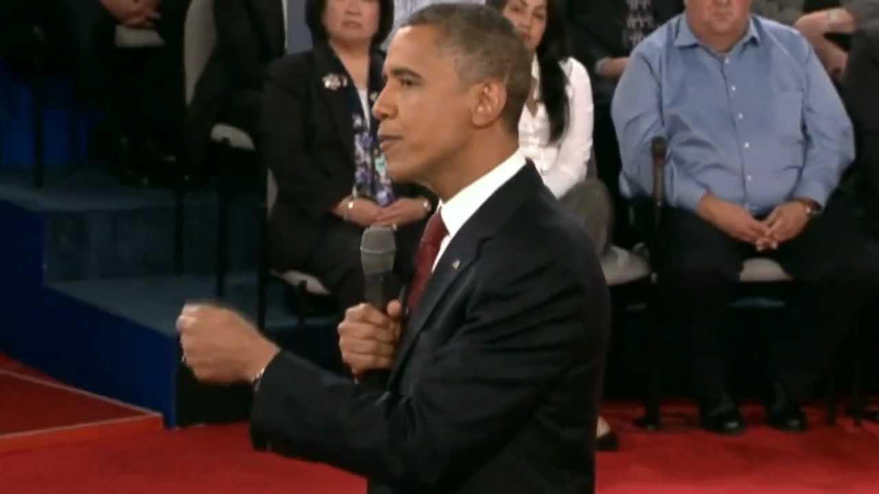 Highlights: Barack Obama and Mitt Romney's second ...