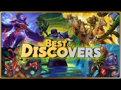 Hearthstone - Best of Discover - Funny and lucky Rng Moments