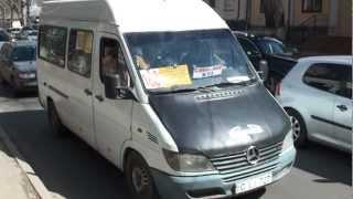 Microbuz arhiplin pe ruta 180, Chișinău
