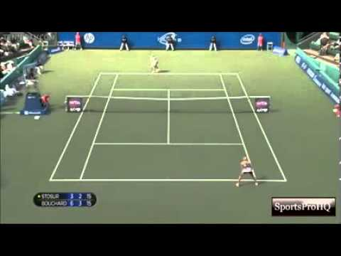WTA Japan Open 2013 ~ Final Highlights ~ Sam Stosur Vs Eugenie Bouchard