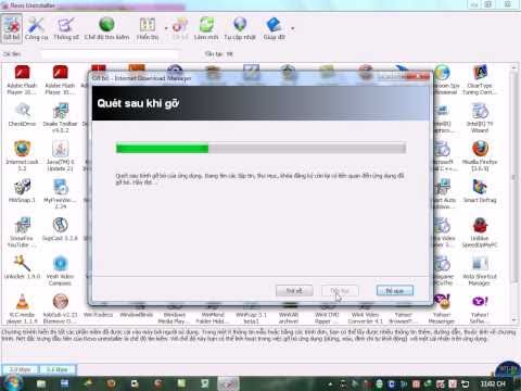 Gỡ bỏ IDM bằng Phần mềm Revo Uninstaler_ tuanhpt69