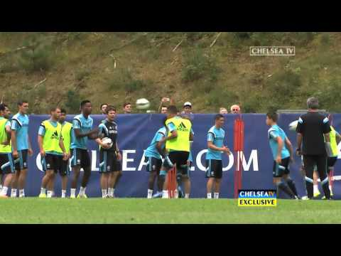 First look: New Blues in training