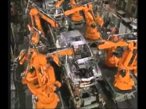 Automação Industrial - Montagem por Robôs
