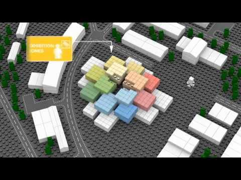 The LEGO House by BIG (Bjarke Ingels Group) -- HD