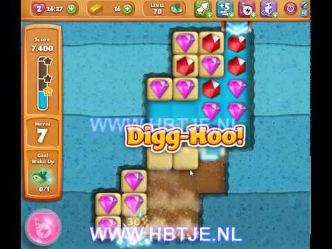 Diamond Digger Saga level 70