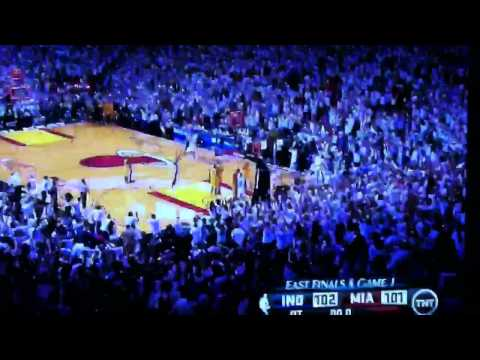 Lebron James buzzer beater in playoffs