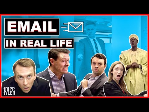 Email In Real Life (이메일을 영상으로 옮긴다면) - 영어 원어민들이 자주 쓰는 영어