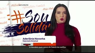 Propaganda partidária do Solidariedade Ceará