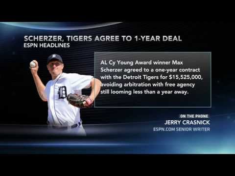 Tigers, Scherzer Agree To One Year Deal.